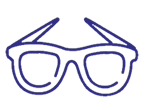 eye wear icon